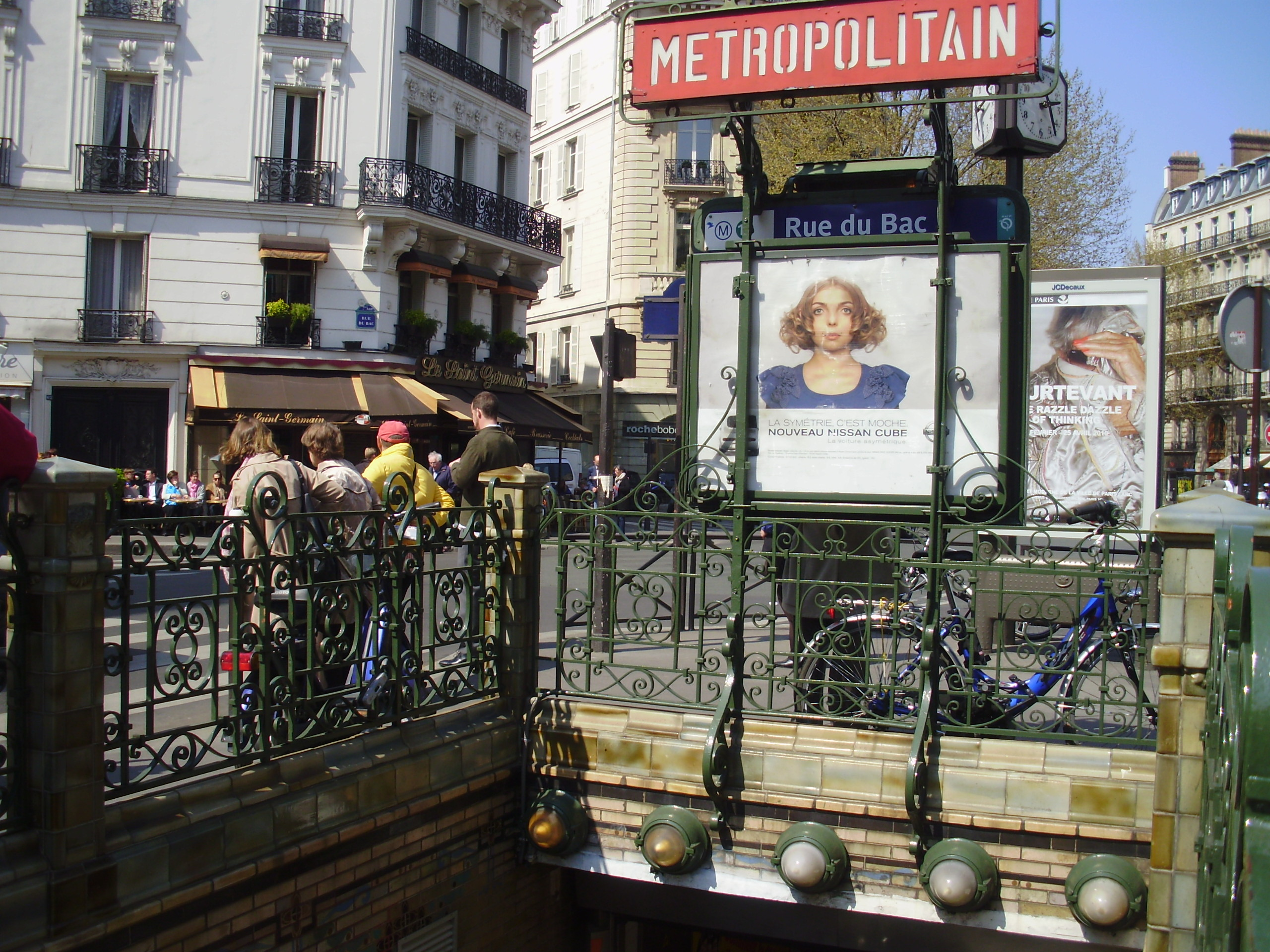Rue du bac m tro de paris - Poltrona frau rue du bac ...