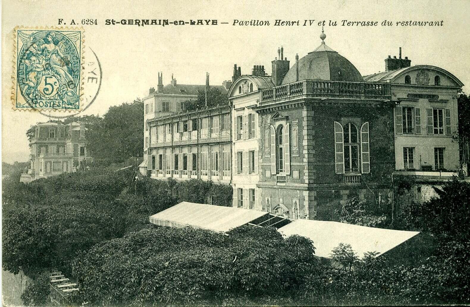 Pavillon Henri  Restaurant St Germain En Laye