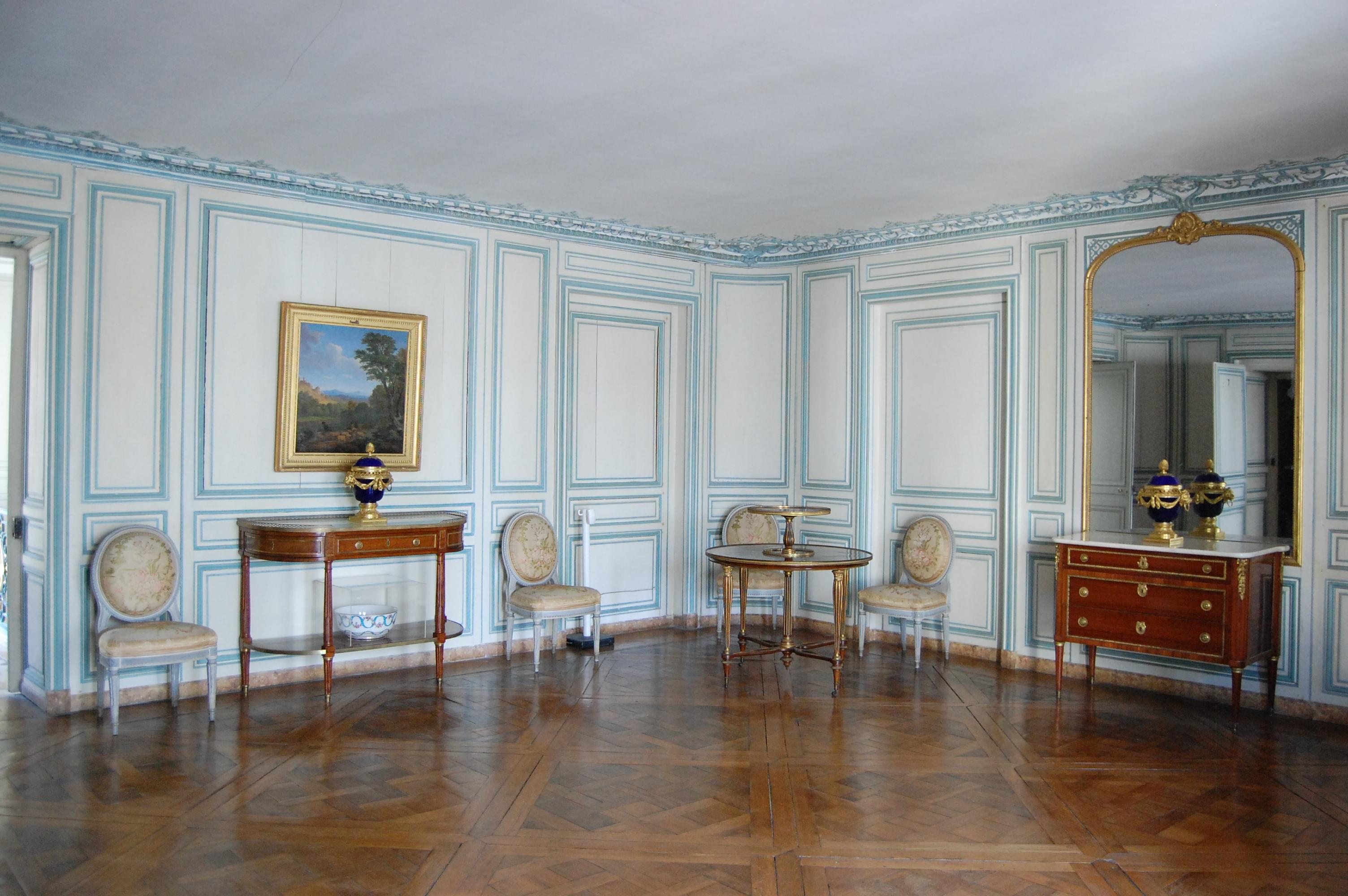 Appartement de la comtesse du barry for Chambre louis xvi versailles