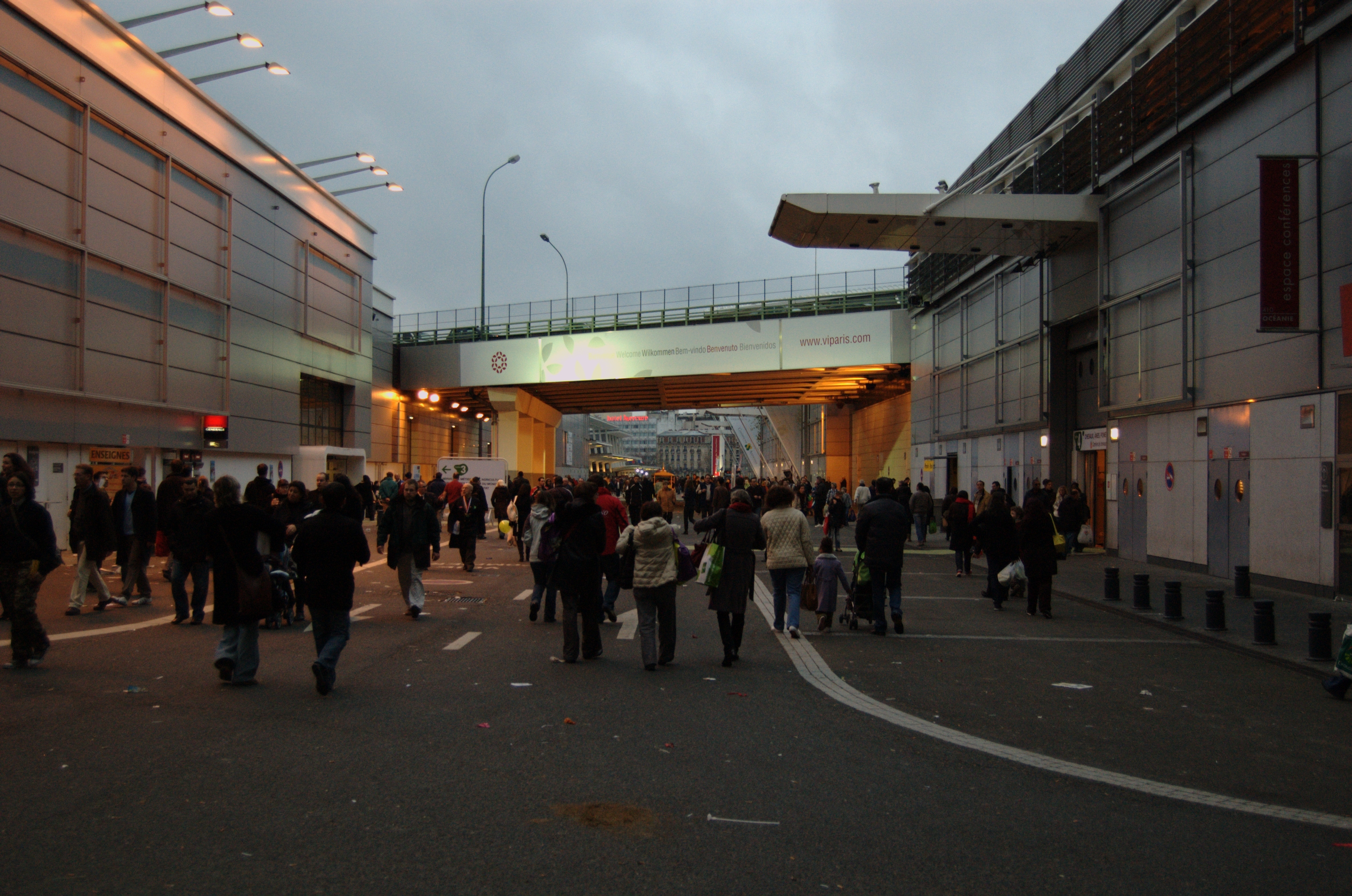 Parc des expositions de la porte de versailles for Porte de versailles salon des expositions