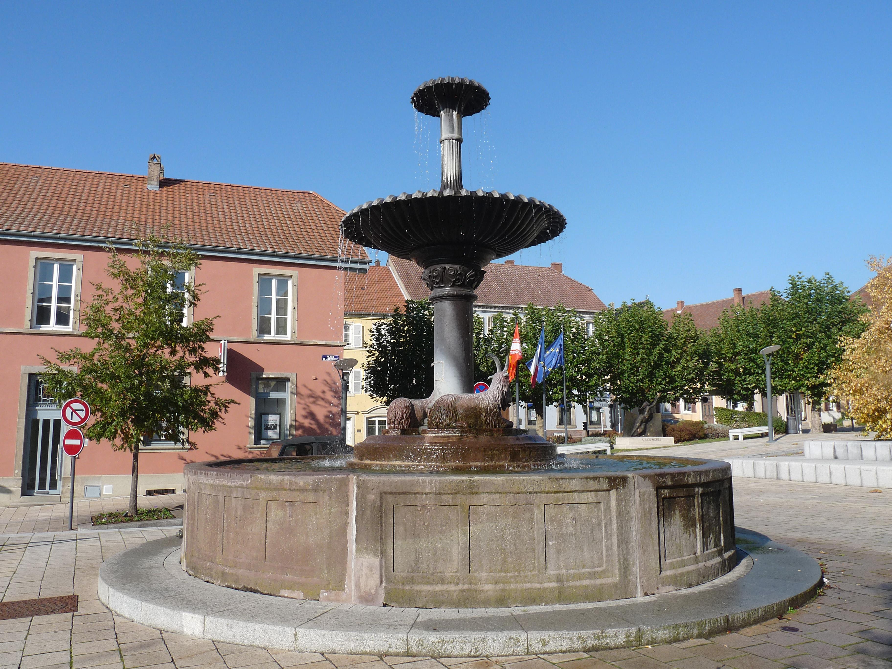 Sarre union for La fontaine aux cuisines