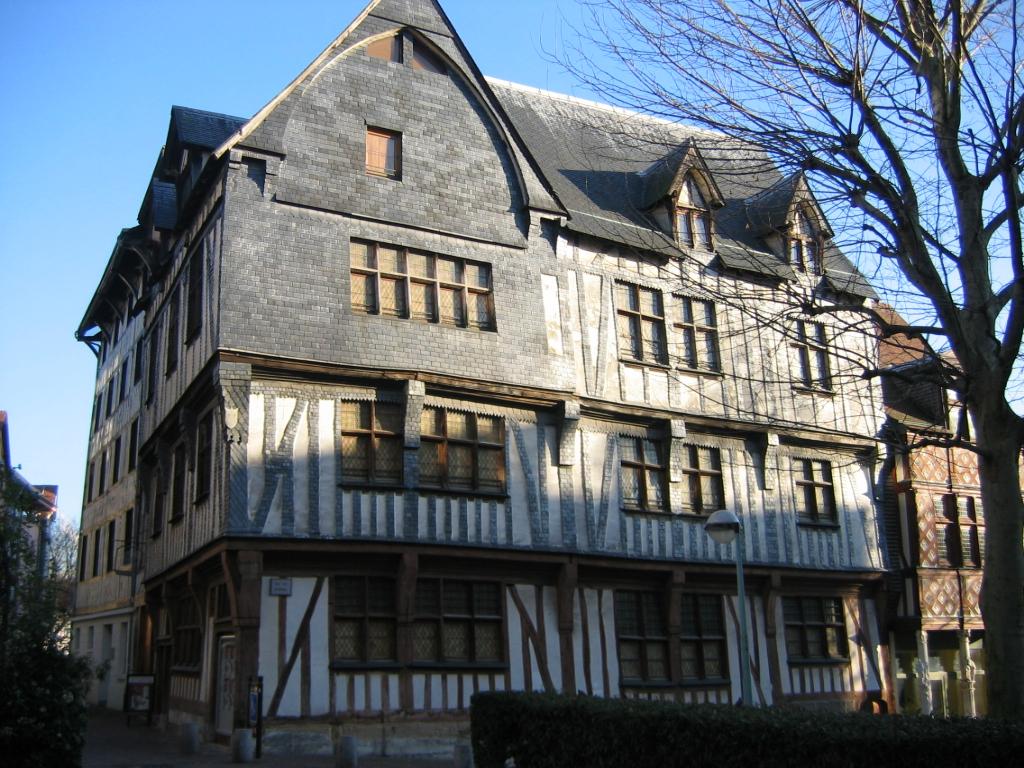 Architecture de la normandie for Maison typique