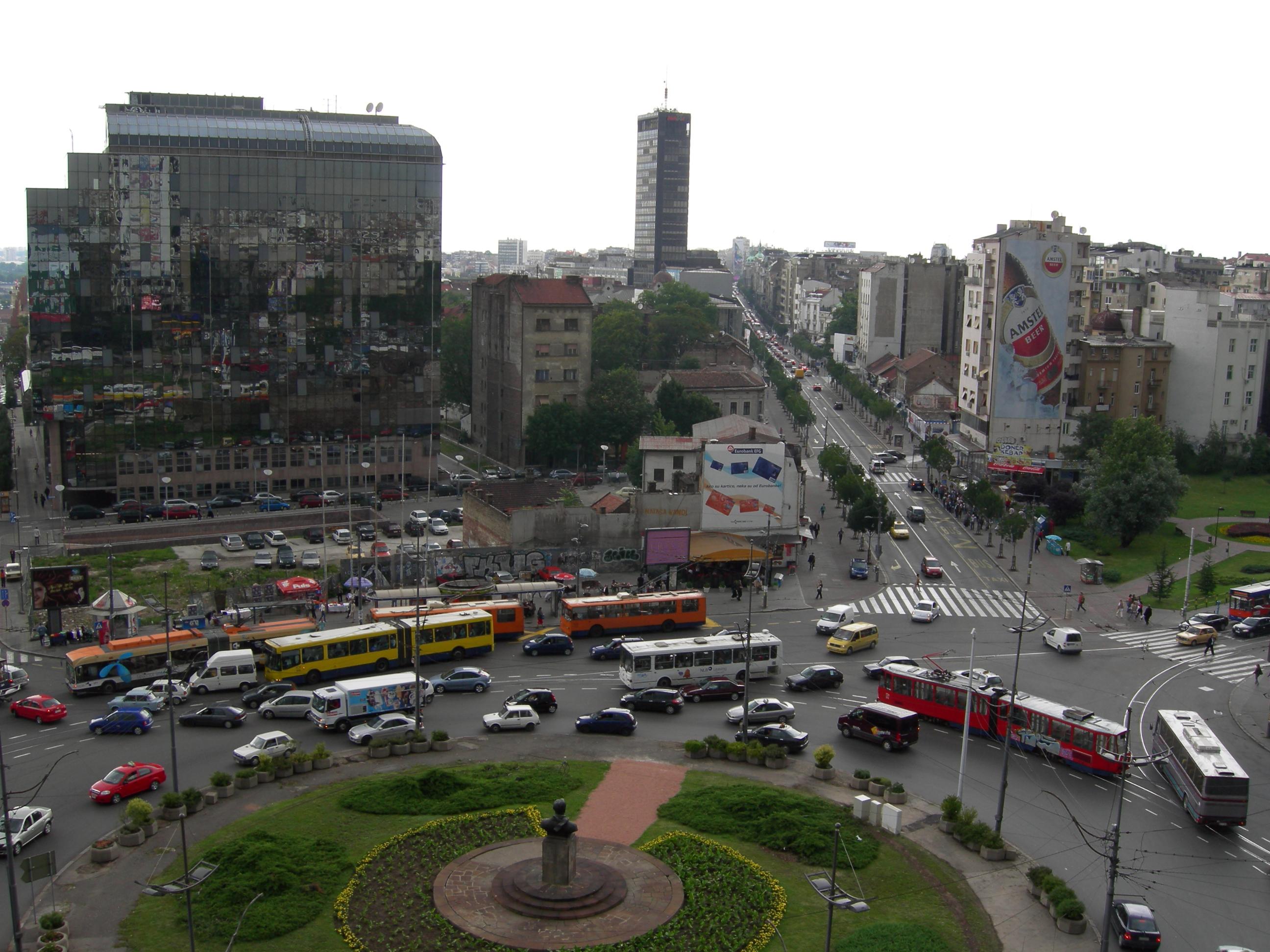 Beogradski trgovi Slavija-Beograd-trg_Dimitrija_Tucovica
