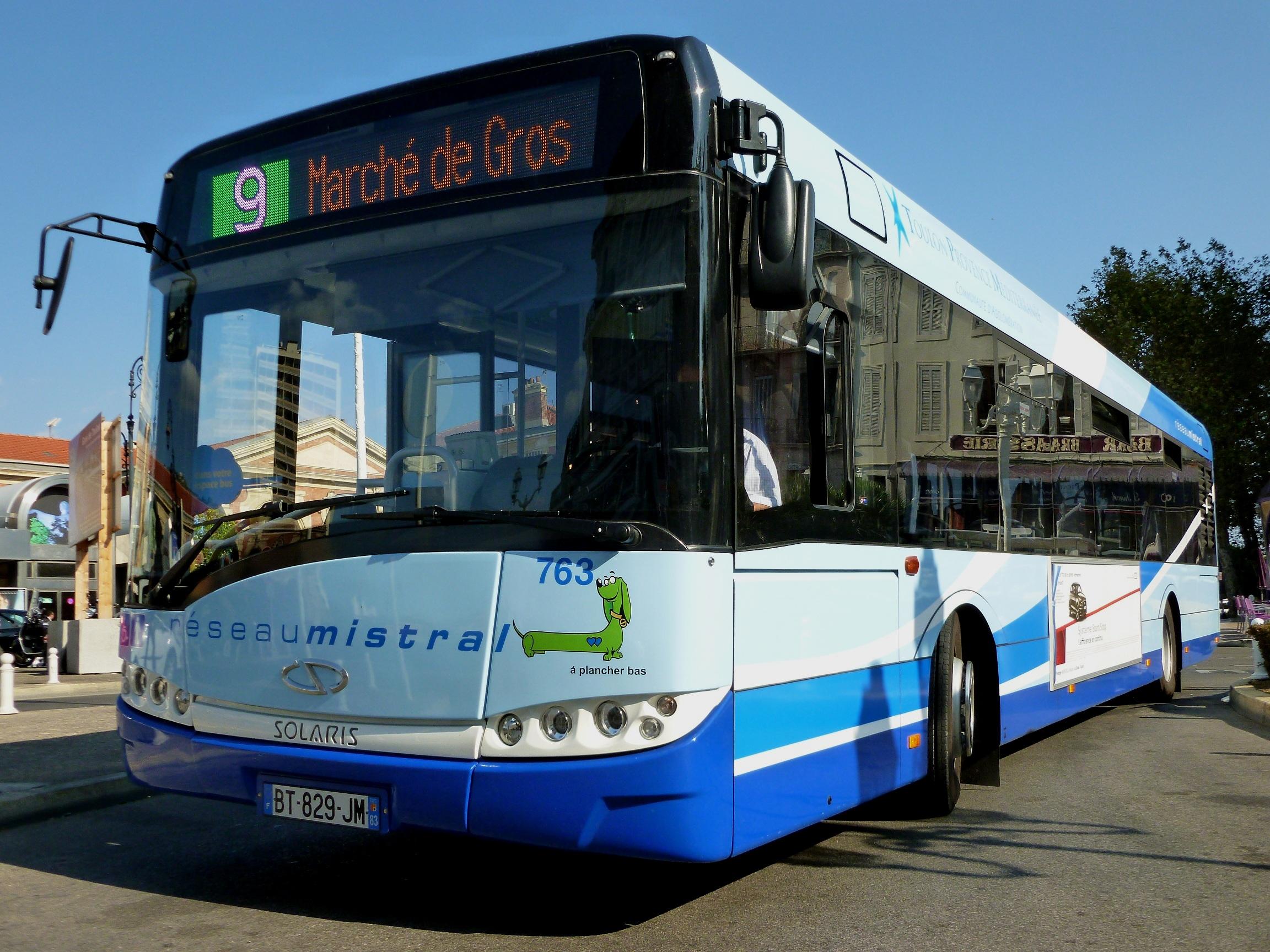 Transports en commun de toulon for Transport en commun salon de provence