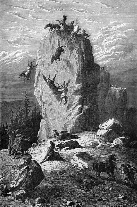 la roche de Solutré Solutre