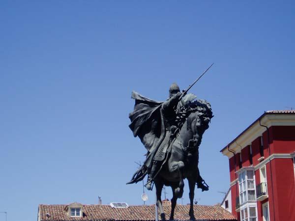 LE CHEVALIER DE LA HAINA Spain_Burgos_statue_the_Cid