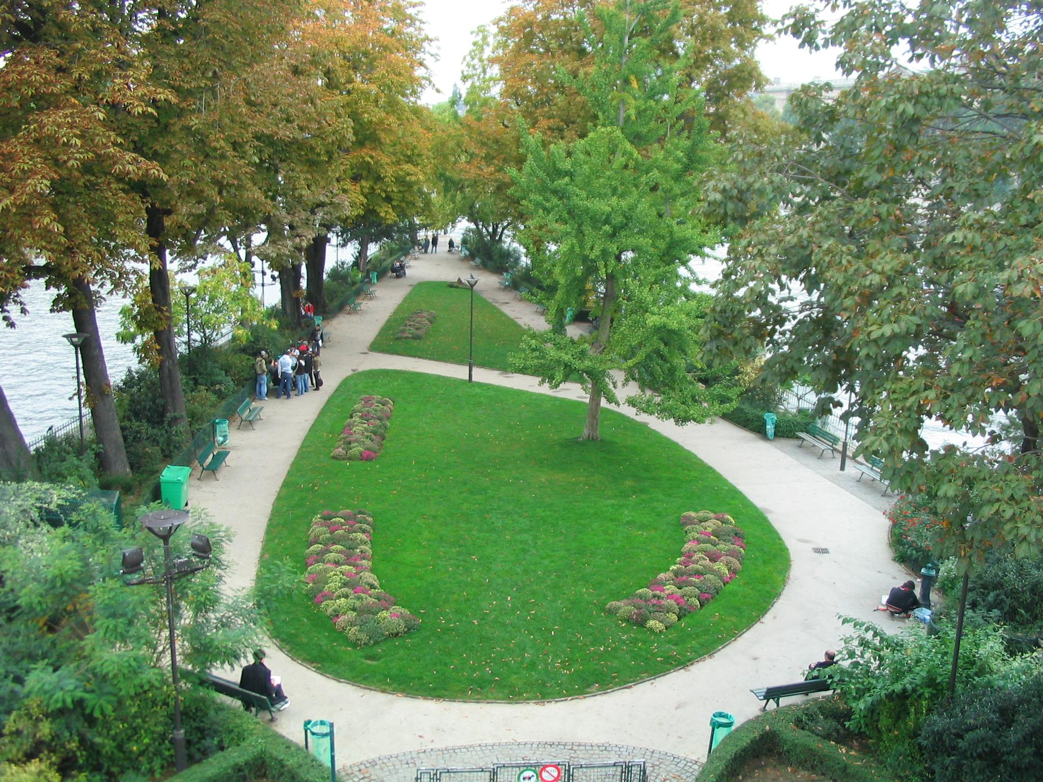 Liste des espaces verts de paris for Espace vert paris