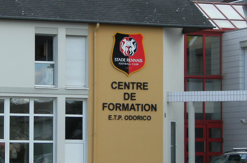 Centre de formation du stade rennais football club - Stade rennais logo ...