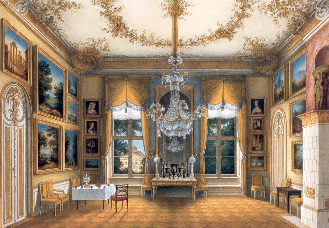 Portrait d 39 int rieur for Le for interieur