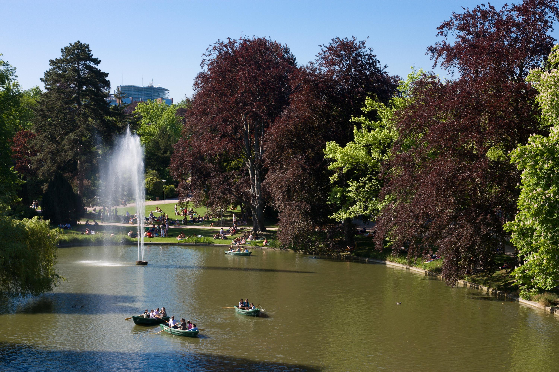 Parc de l 39 orangerie for Le jardin des fleurs strasbourg