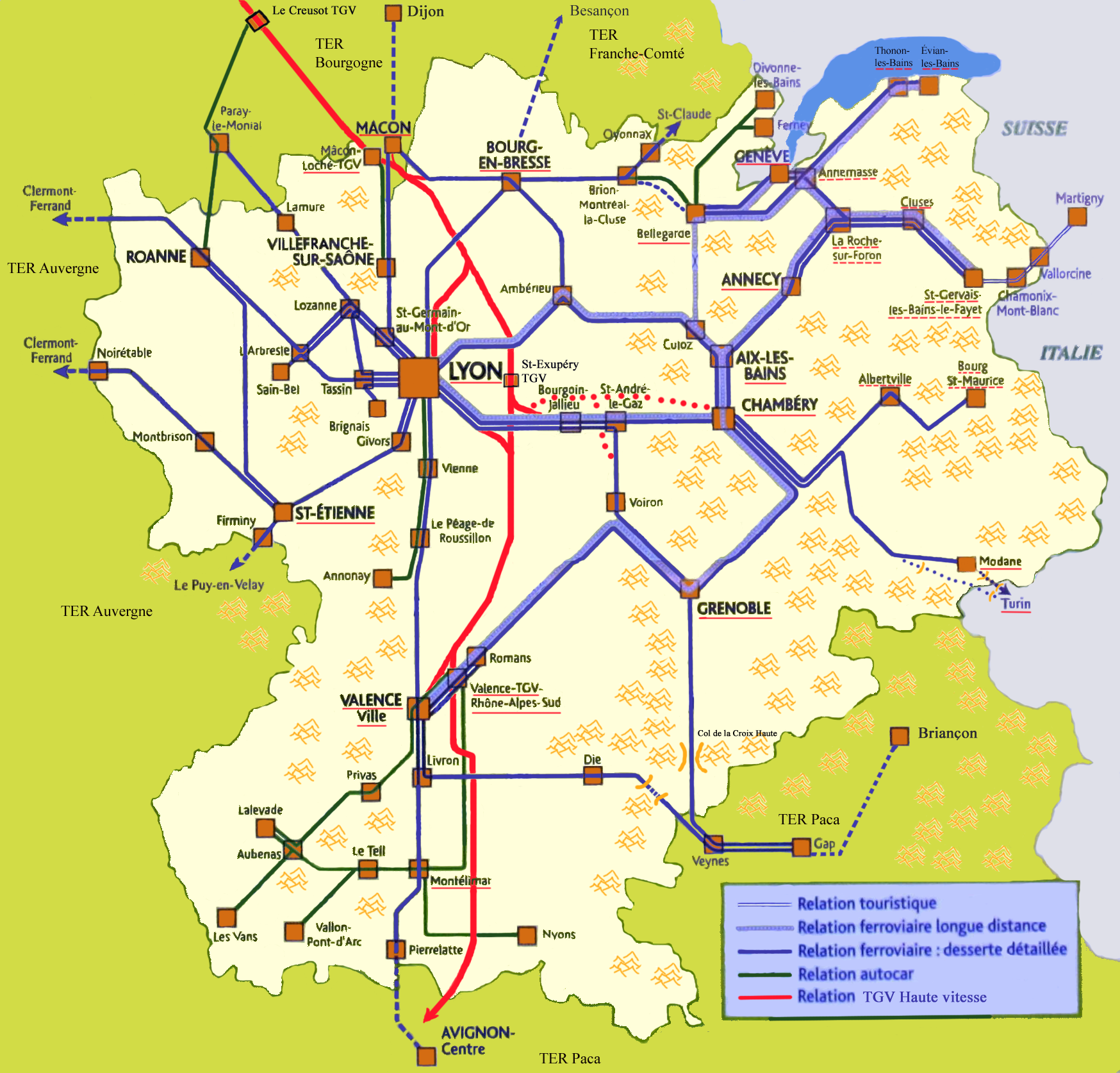 Ter Valence Ville Lyon