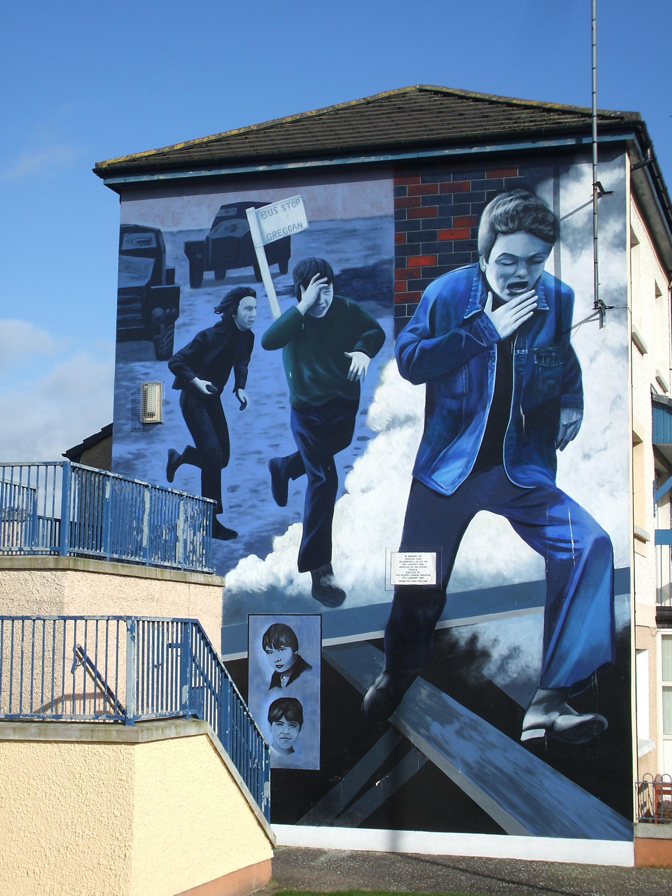 Peintures murales d 39 irlande du nord for Mural irlande