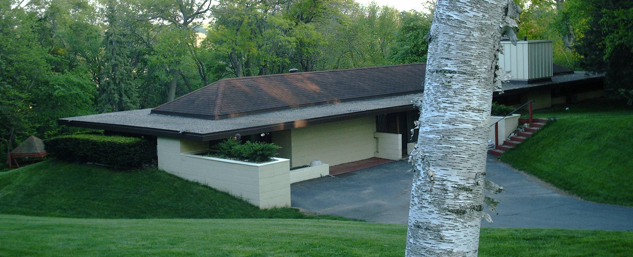 Рис.1. Дом Томаса Киса (Thomas Keys House), Рочестер (Миннесота), 1950