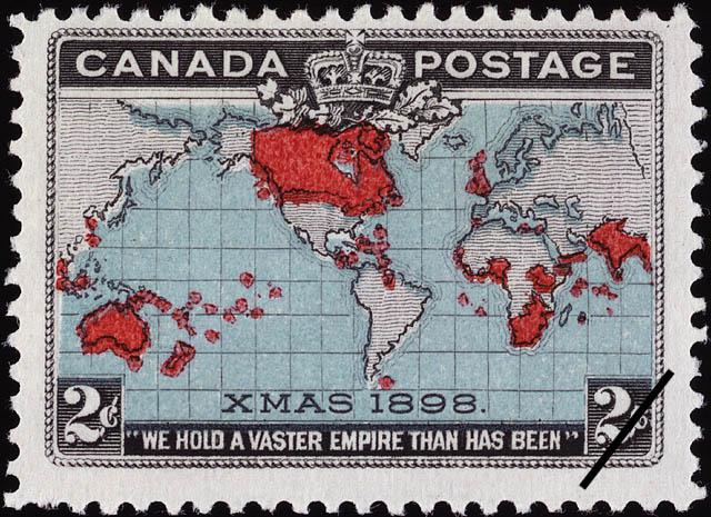 Basé sur les nombres, il suffit d'ajouter 1 au précédent. Timbre_penny_post_Canada_1898