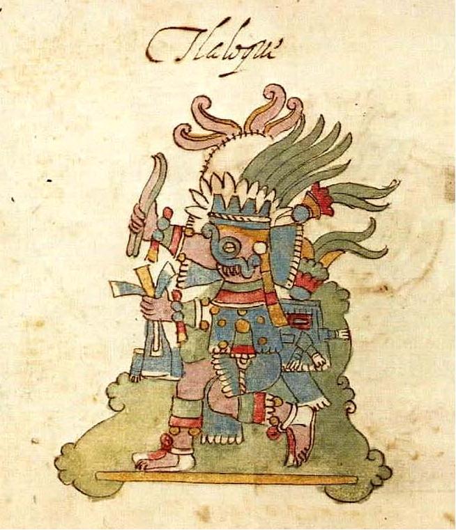 [Fan Project] Disney's Explorers World Tlaloc,_Codex_Rios,_p.20r