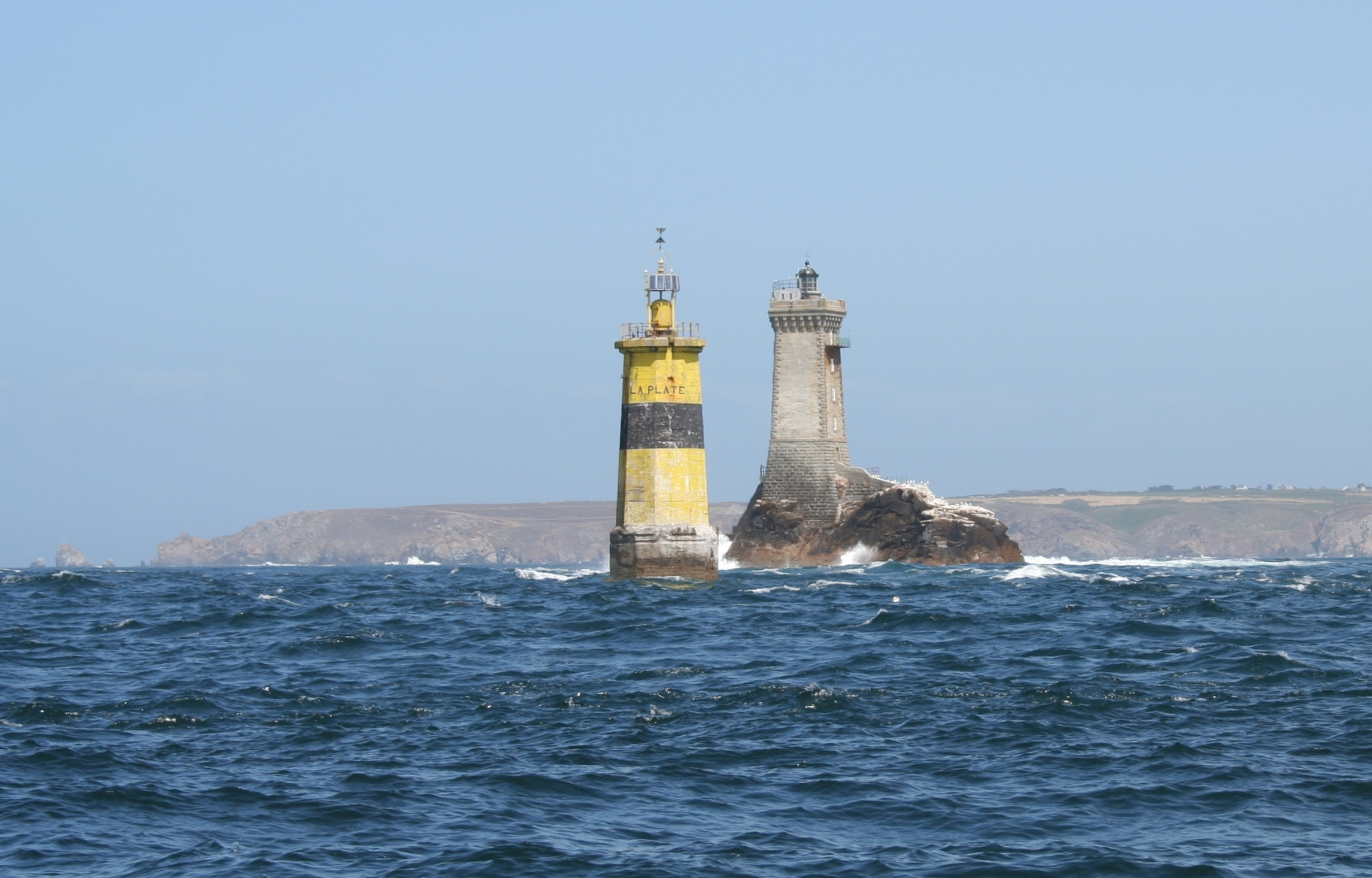 Phare de la vieille for Les salons de la tourelle