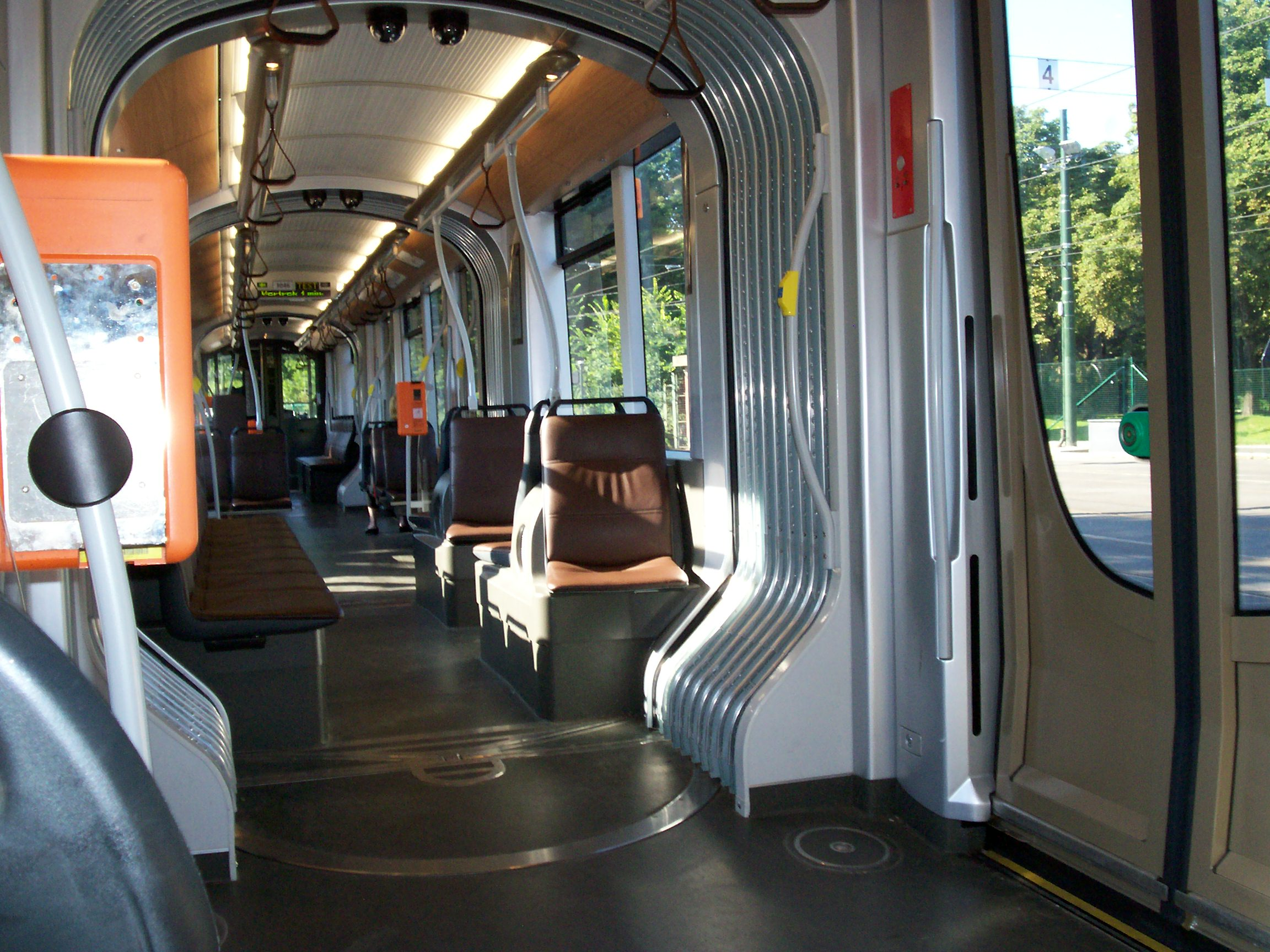 Tram 4000 for Metro interieur