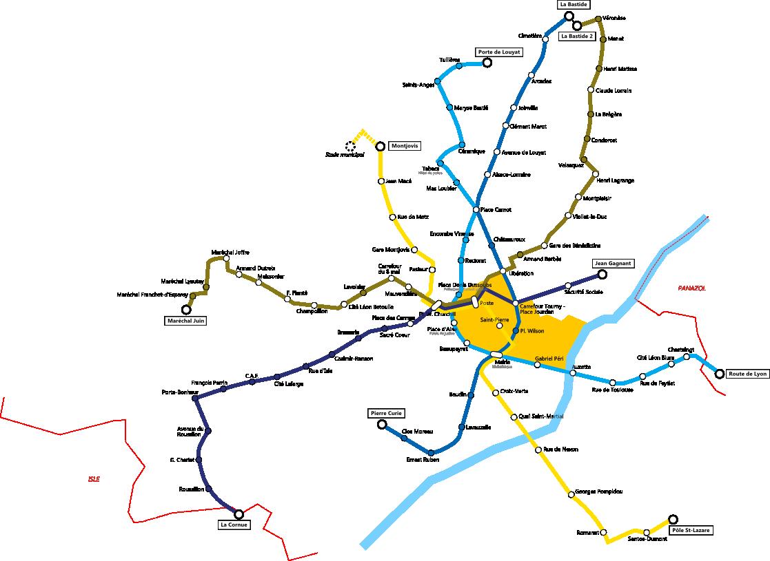 Soci t de transports en commun de limoges m tropole - Ligne bus limoges ...