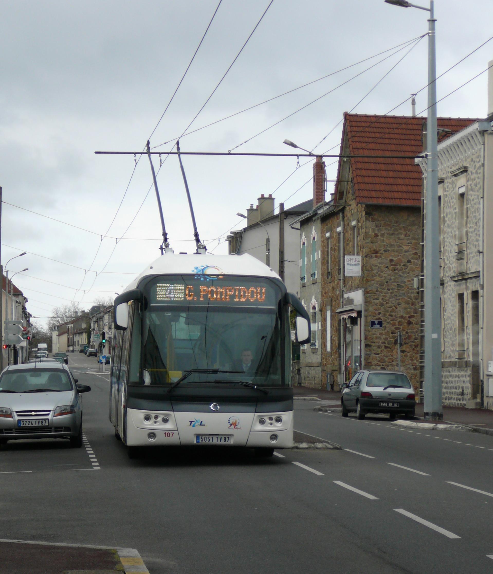 Soci t des transports en commun de limoges - Ligne bus limoges ...