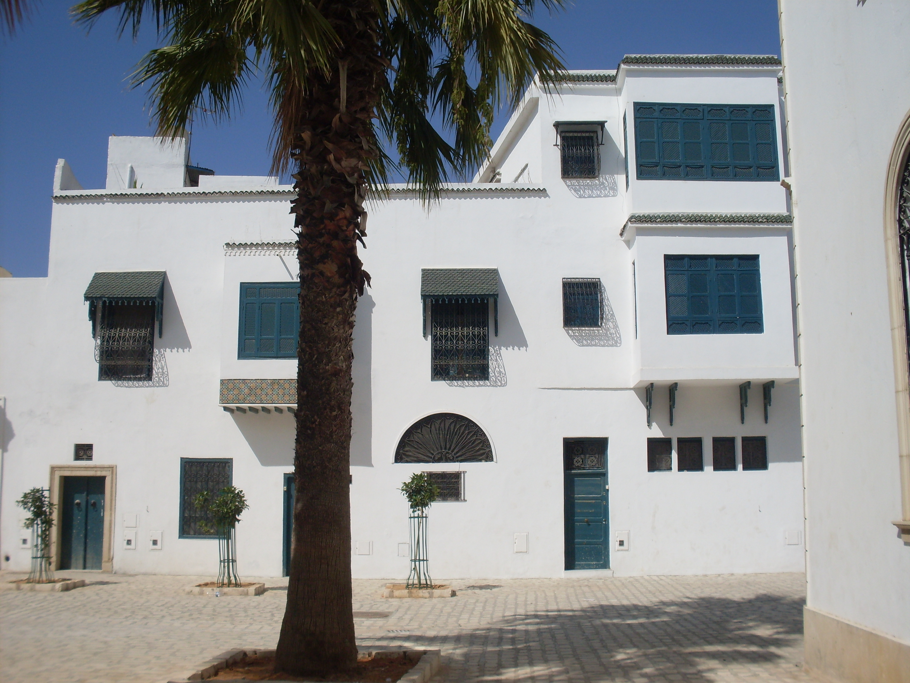 Tunis for Architecture tunisienne maison