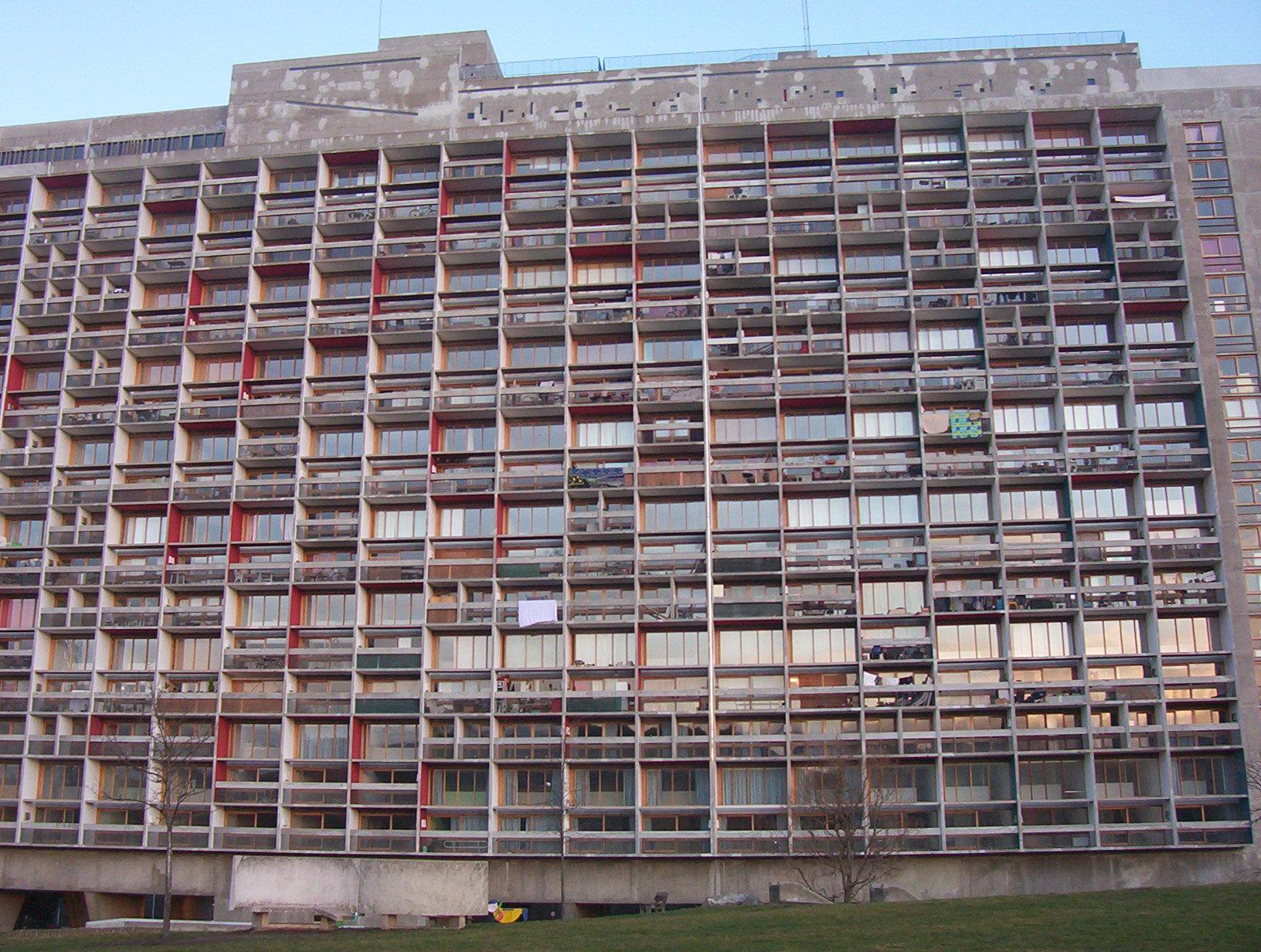 Unit d 39 habitation de firminy vert - Unite d habitation dimensions ...