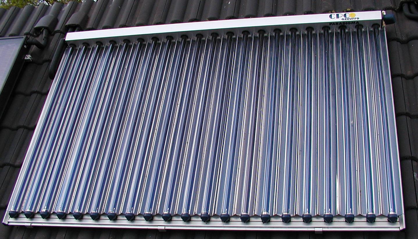 Capteurs solaires thermiques for Chauffe eau solaire sous vide