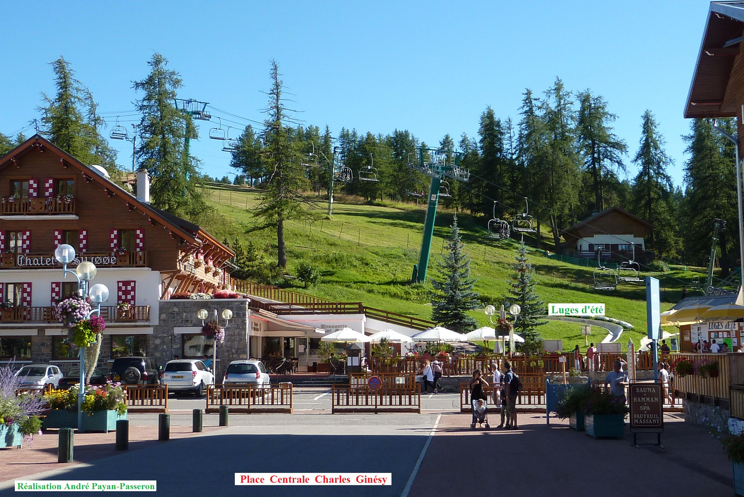 Valberg France  city photo : Au cœur du « village de charme » l'été à 1 673 mètres d ...