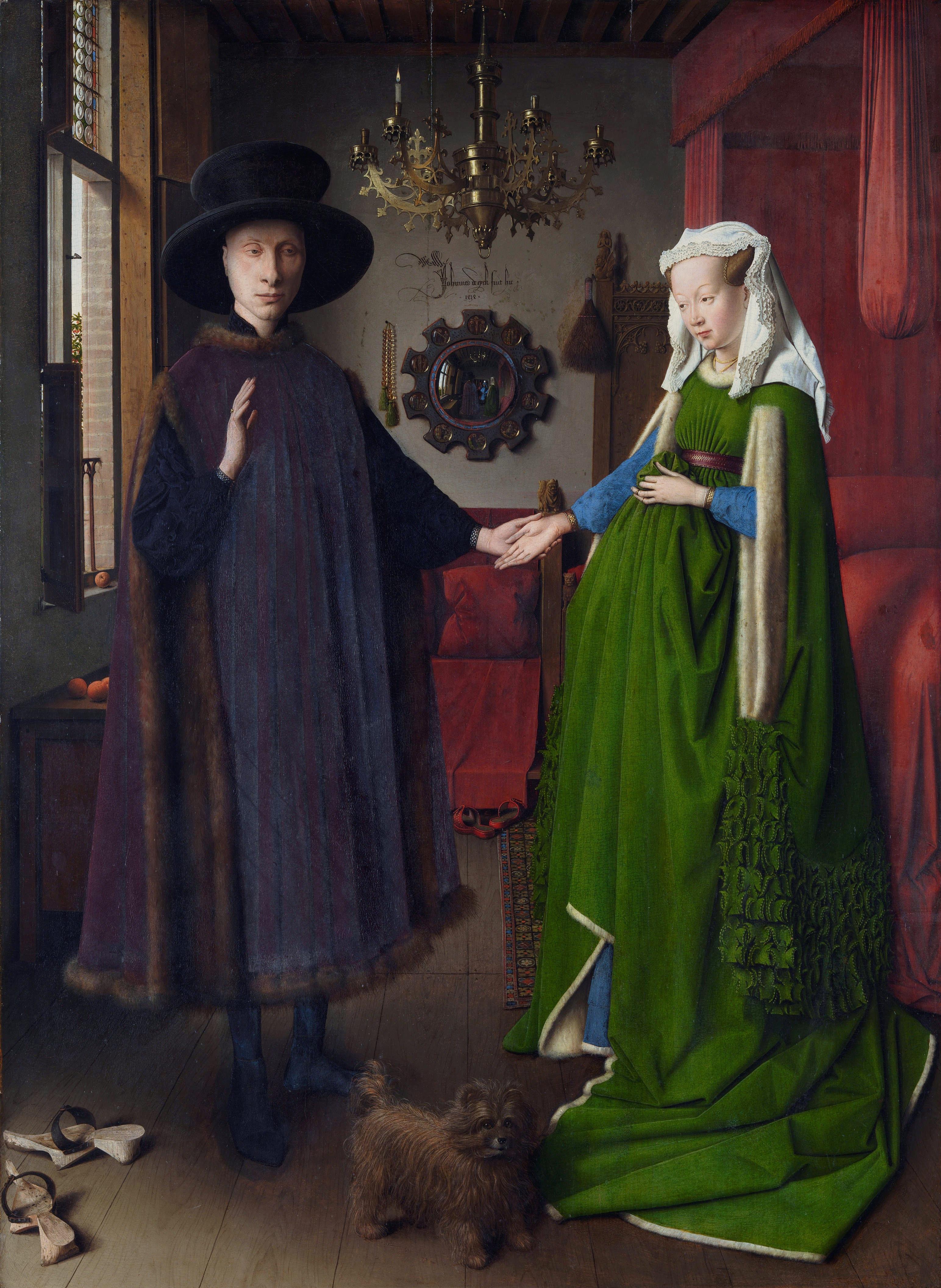 Arnolfini Wedding Portrait Controversy Essay - Part 2