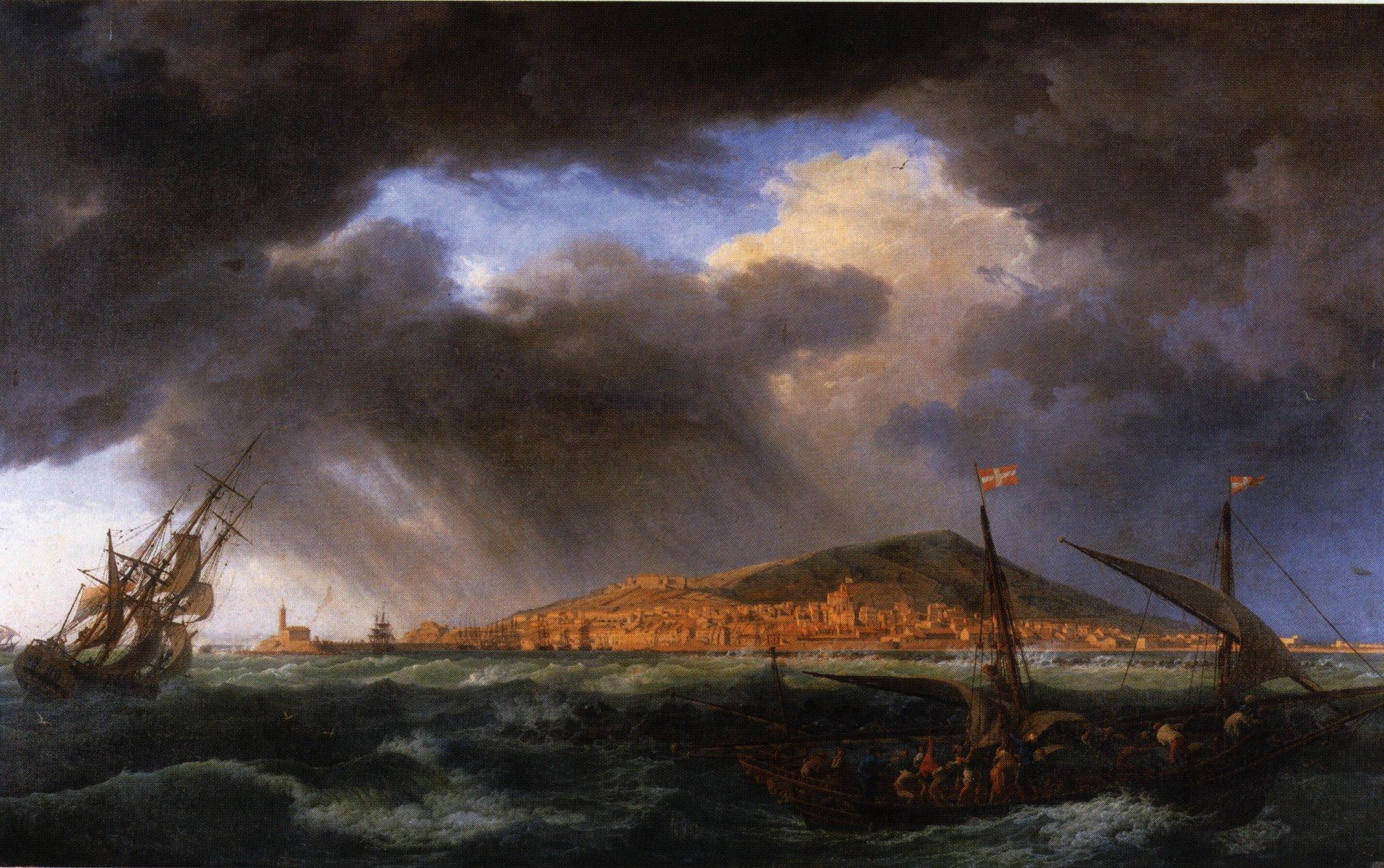 Mont saint clair - Joseph vernet le port de bordeaux ...
