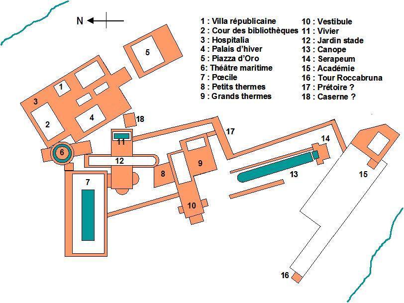 Villa Adriana Mappa Concettuale
