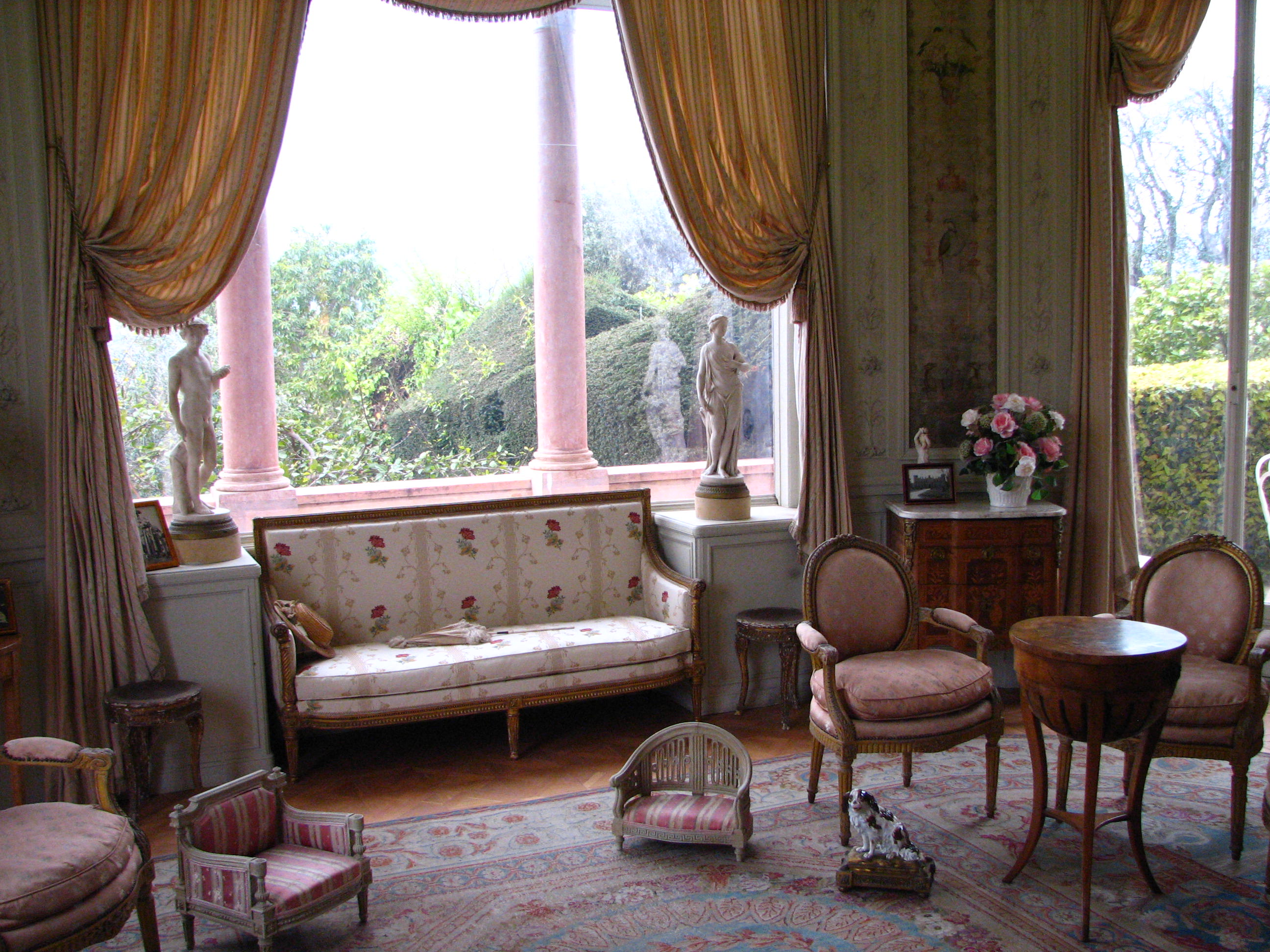 Villa ephrussi de rothschild for French interieur