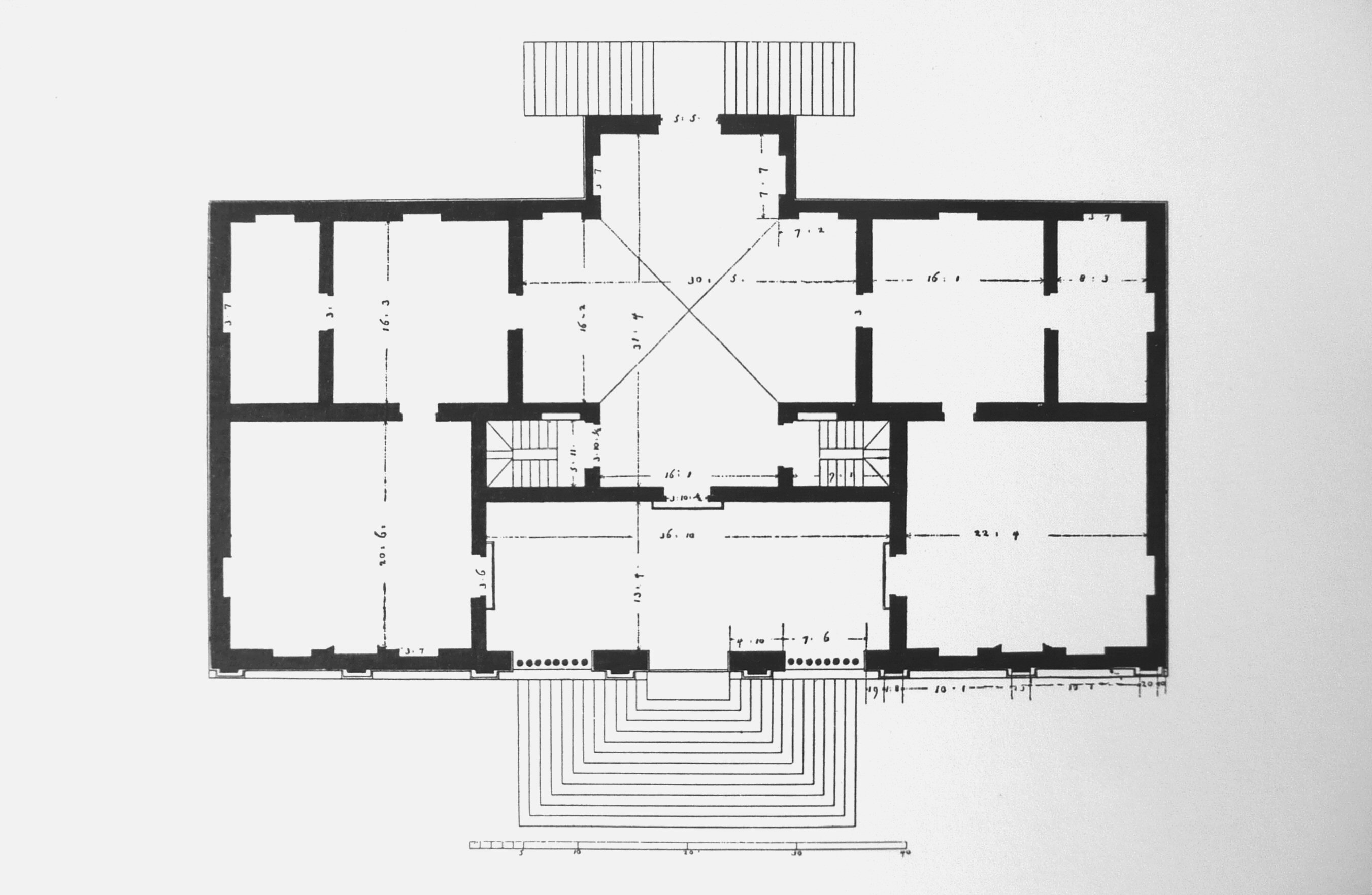 Villa gazzotti grimani for Palladian house plans