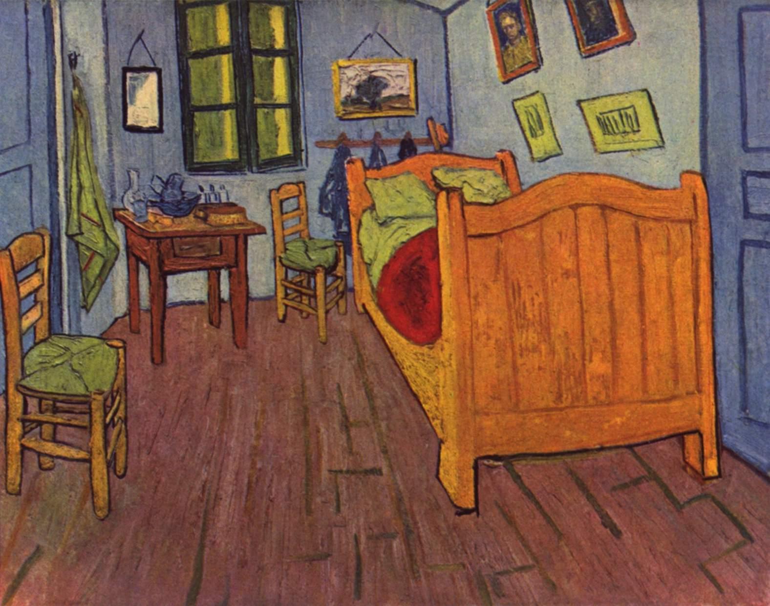 La chambre de van gogh arles - Descrizione di una camera da letto ...
