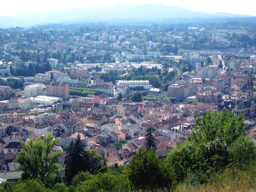 Voiron France  City pictures : Voiron vu du Bois Joli