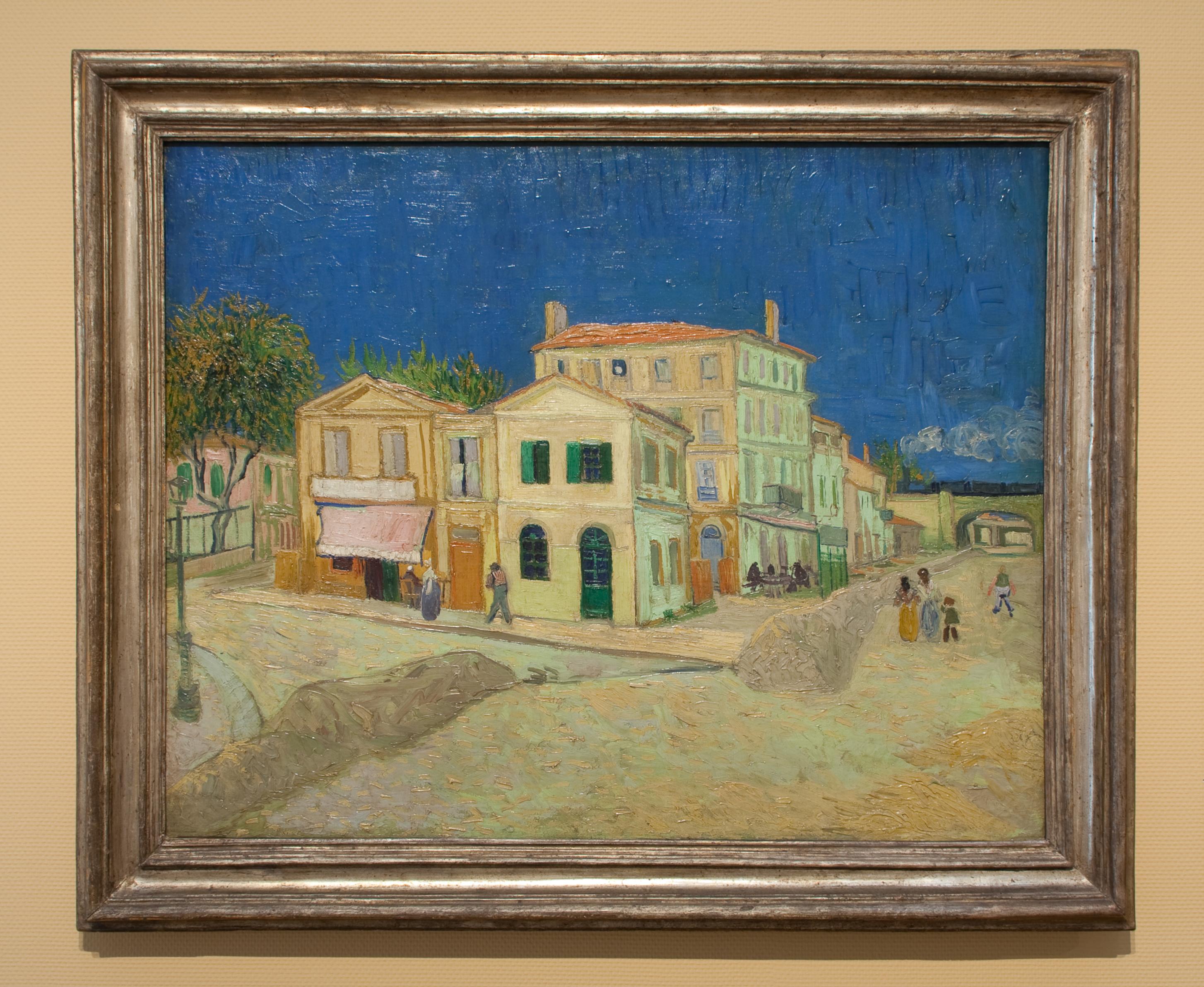 Maison Jaune Van Gogh