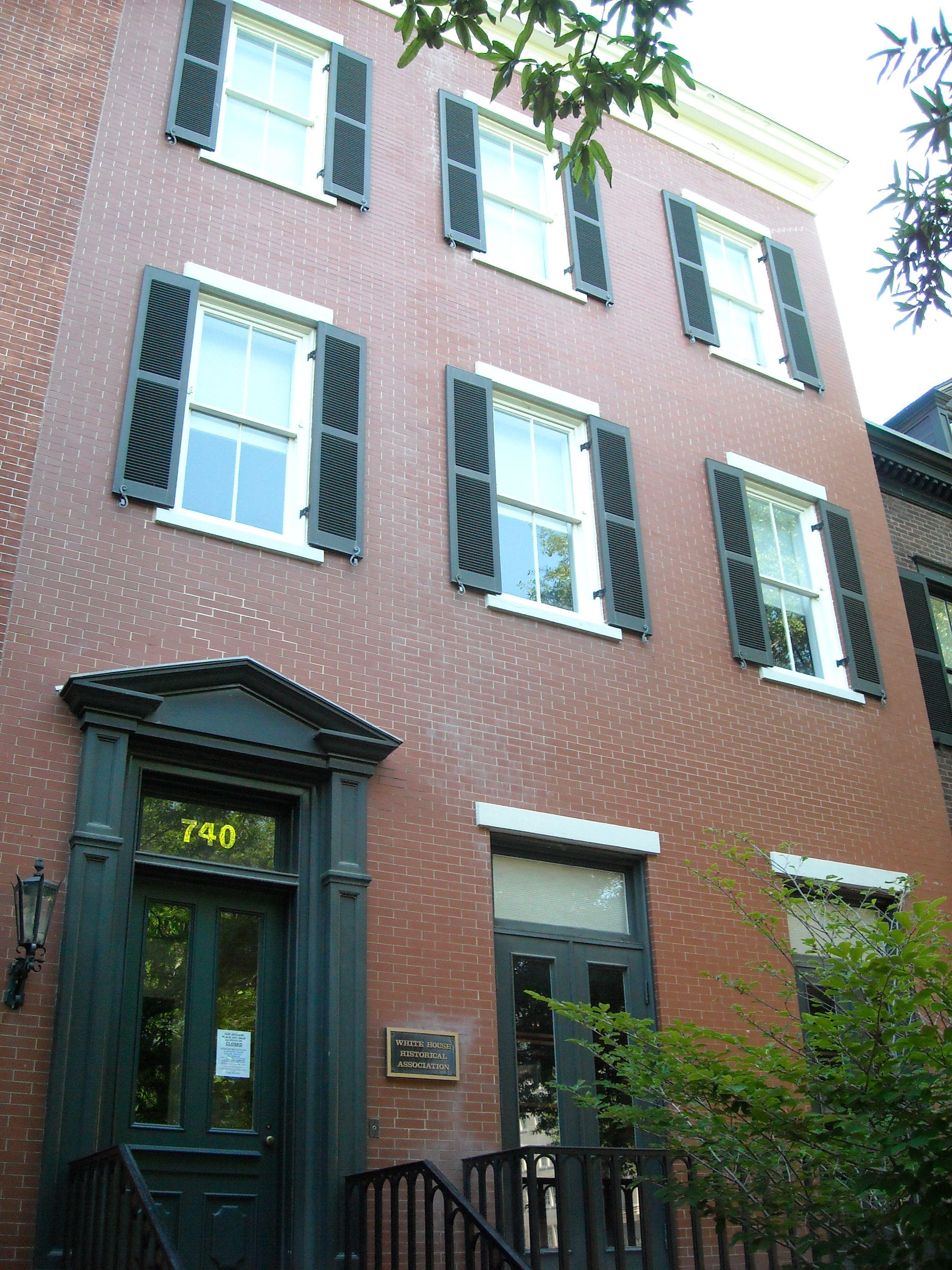 Association historique de la maison blanche for Association maison