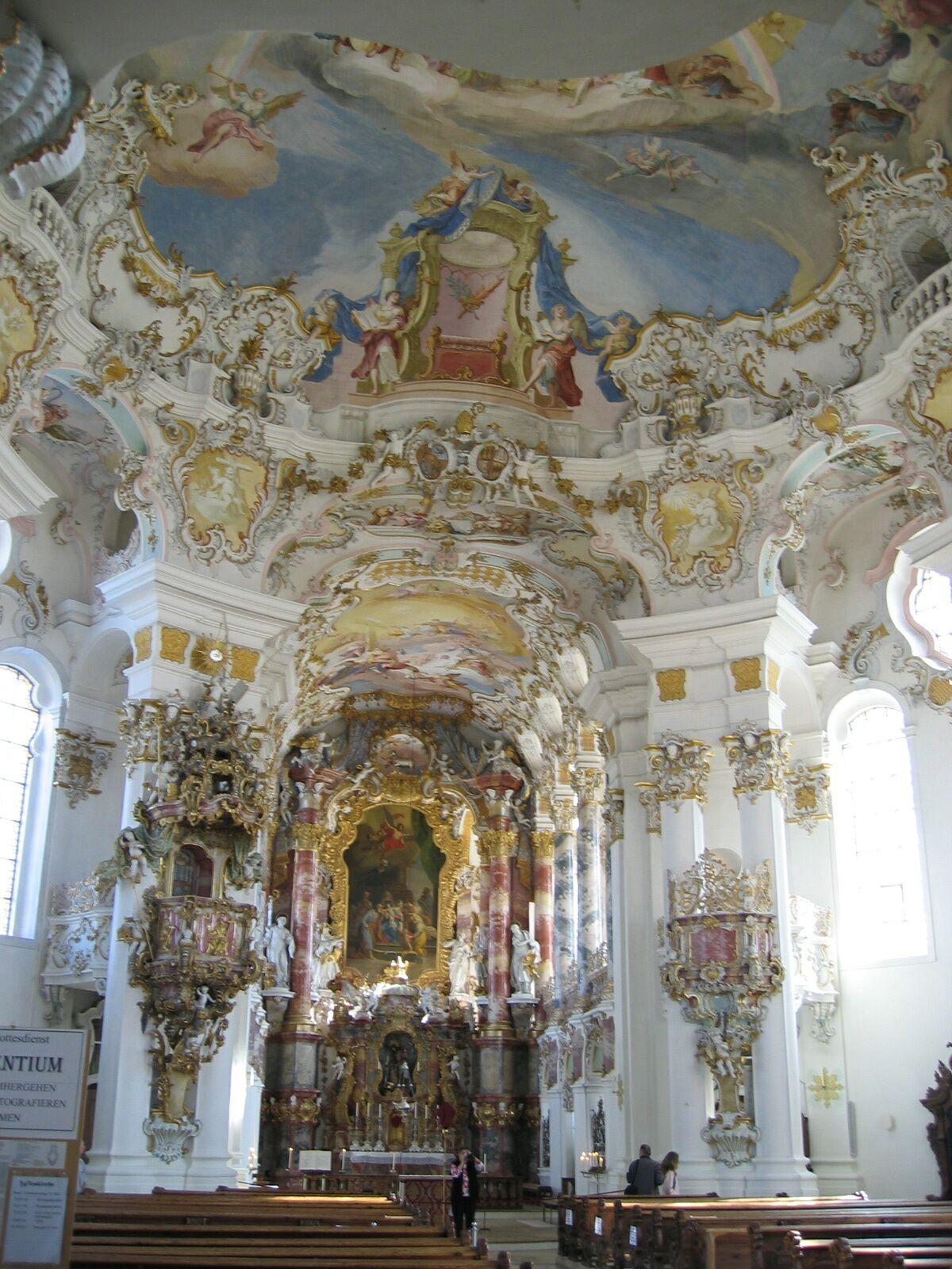 Rococo for Interieur baroque