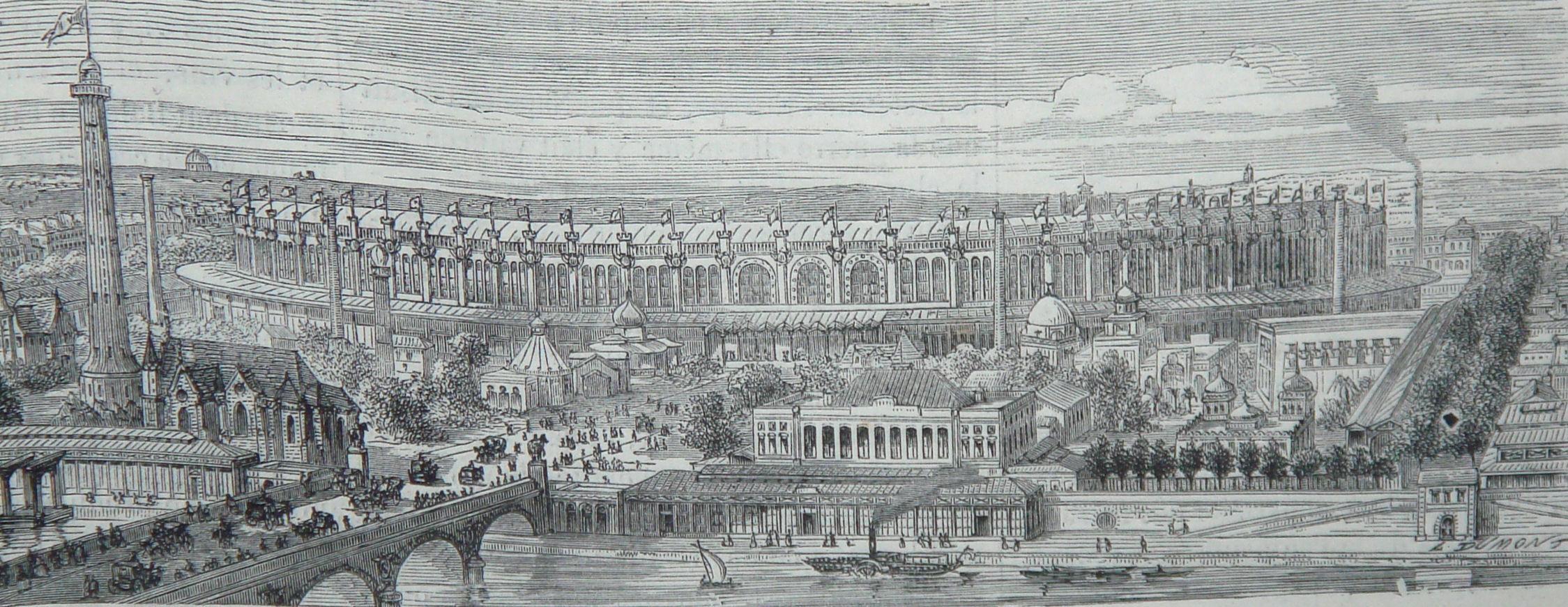 Exposition universelle de 1867 for Expo paris mars