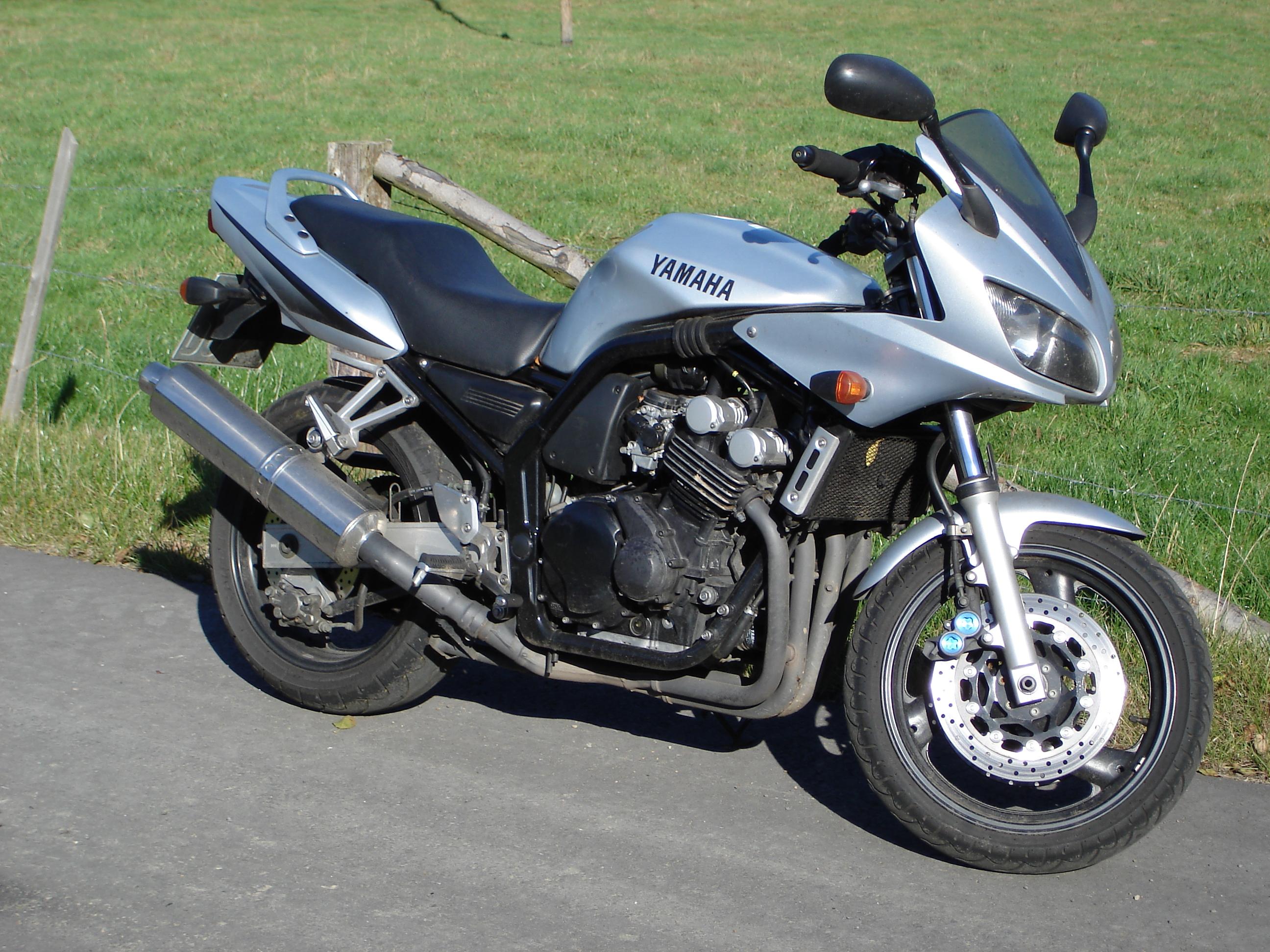 77968 Essai Longue Duree Deja Entame Fazer 600 De Momanon Yamaha Fzs 600 Fazer